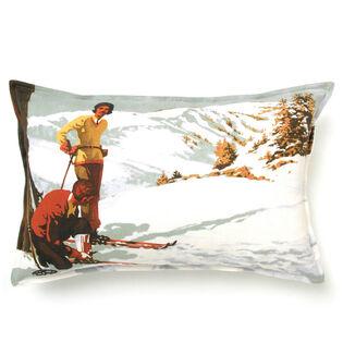 Vintage Ski Pillow