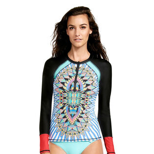 Women's Look At Me Surf's Up Rashguard