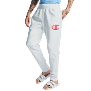 Pantalon de jogging Reverse Weave® avec logo en point de chaînette pour hommes