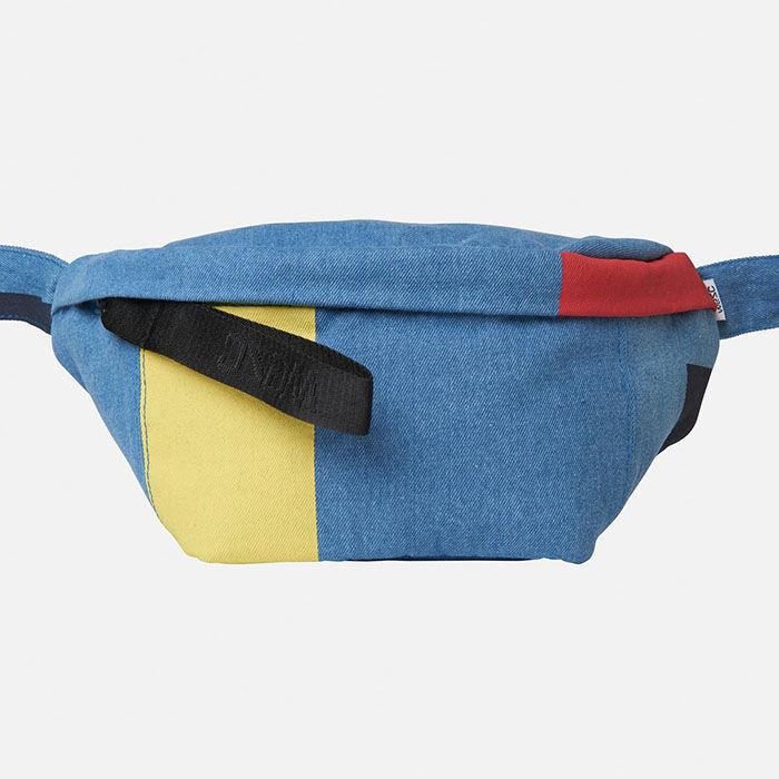 Unisex Usher Blocks Belt Bag