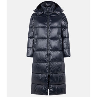 Women's Luck Long Hooded Maxi-Quilted Coat
