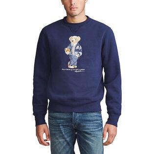 Chandail en molleton Polo Bear pour hommes