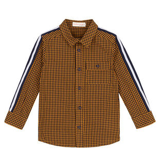 Baby Boys' [6-24M] Printed Side Band Shirt