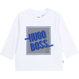 Boys' [3M-3Y] Graphic Long Sleeve T-Shirt