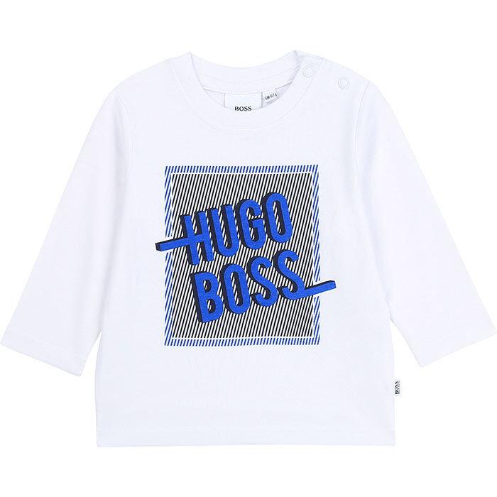 Boys' [3M-3Y] Graphic Long Sleeve T-Shirt