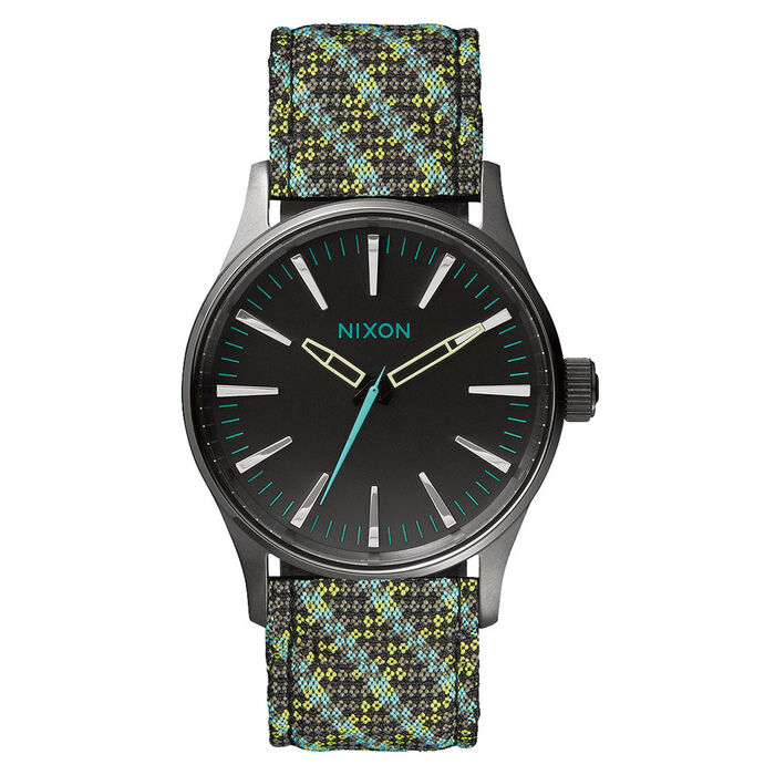 Sentry 38 Leather Watch