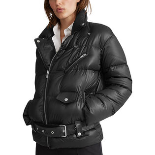 Women's Moto Down Jacket