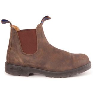 Bottes en cuir doblées #585 - Brun rustique