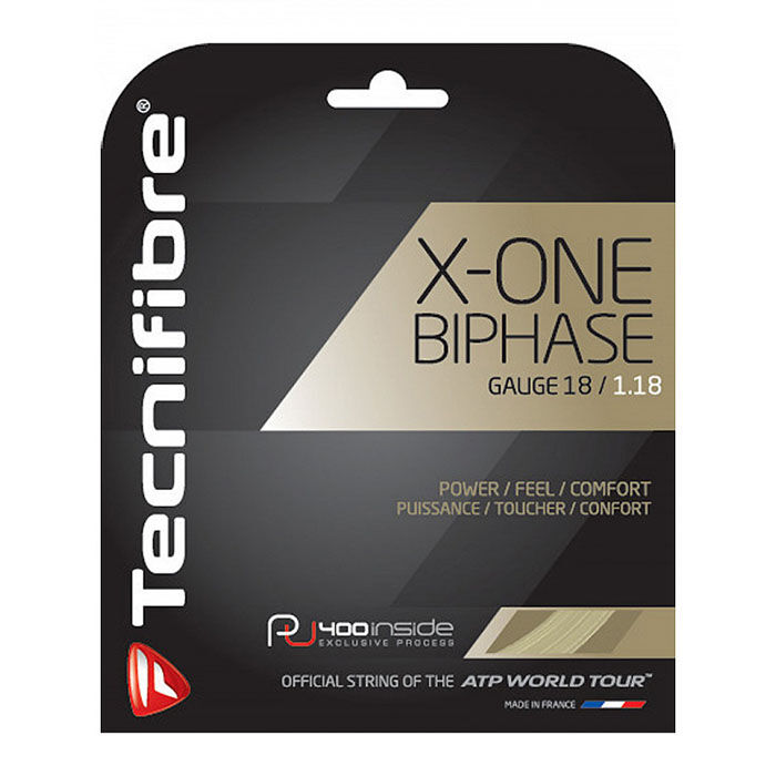 X-One Biphase 18G Tennis String