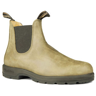 #1490 The Leather Lined Boot In Olive