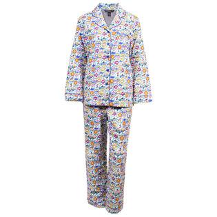 Women's Ski Holiday Two-Piece Pajama Set
