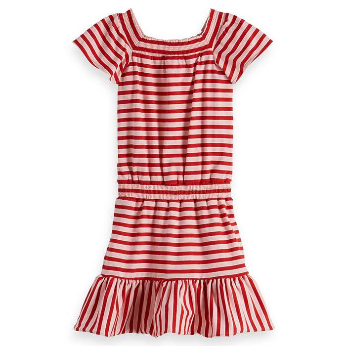 Robe en jersey à rayures pour filles juniors [8-16]