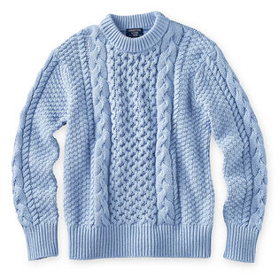 Women's Cable Knit Crew Sweater