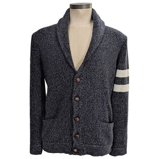 Men's Melange Wool-Cashmere Cardigan
