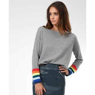 Women's Liz Rainbow Cuff Sweater