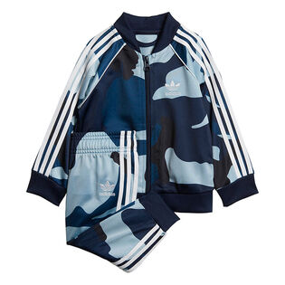 Baby Boys' [6M-3Y] Camouflage SST Two-Piece Track Suit