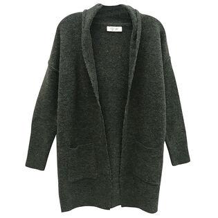 Women's Hooded Open Cardigan