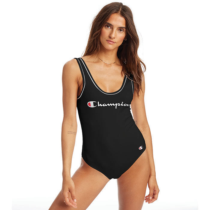 Women's Everyday Tank Script Logo Bodysuit