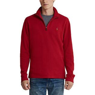 Men's Estate-Rib Cotton Pullover Sweater