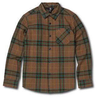 Junior Boys' [8-16] Caden Plaid LS Shirt