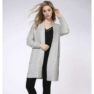 Women's Long Knit Cardigan