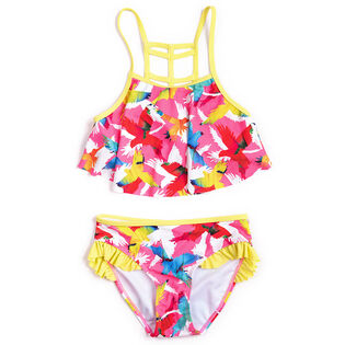 Girls' [3-7] Parrot Two-Piece Bikini