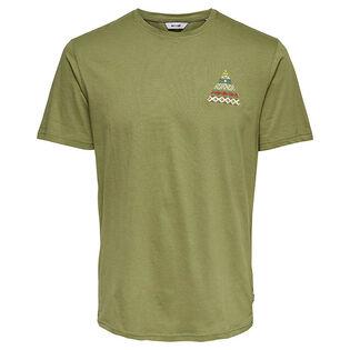 Men's Aztec Printed T-Shirt