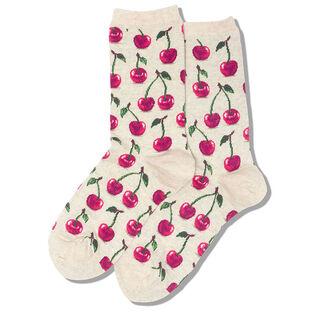 Women's Cherries Crew Sock