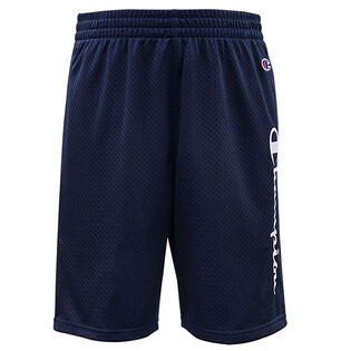 Boys' [4-7] Vertical Script Mesh Short