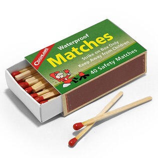 Waterproof Matches (4 Pack)