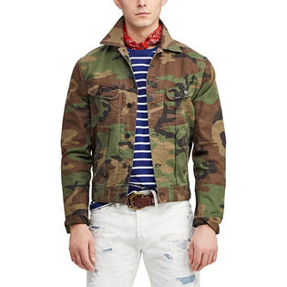 0f12f9636df881 Men's Camo Denim Trucker Jacket Men's Camo Denim Trucker Jacket. Polo Ralph  Lauren