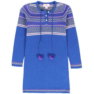 Junior Girls' [5-14] Pom Pom Dress
