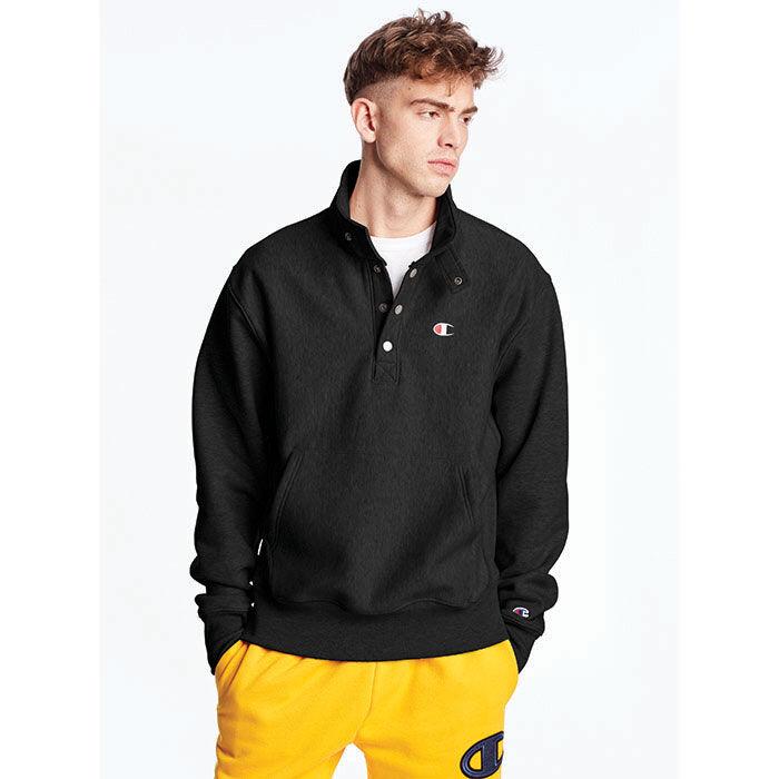 Men's Reverse Weave® Quarter Snap Pullover Sweatshirt