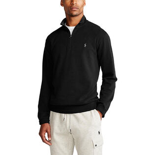 Men's Luxury Jersey Quarter-Zip Pullover Top