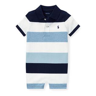 Baby Boys' [3-24M] Cotton Mesh Polo Shortall