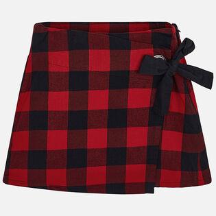 Junior Girls' [8-16] Check Skirt