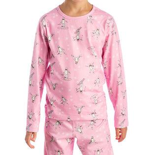 Juniors' [8-16] Fleece Print Top
