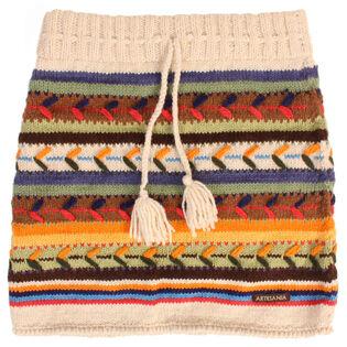 Women's Wool Stripe Skirt