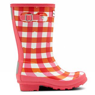 Juniors' [13-5] Original Gingham Rain Boot