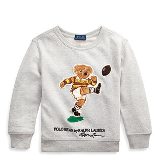 Chandail en coton Rugby Bear pour garçons [5-7]