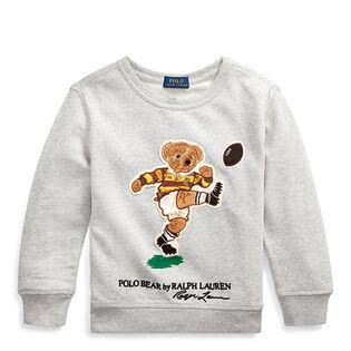 Boys' [2-4] Rugby Bear Cotton Sweatshirt
