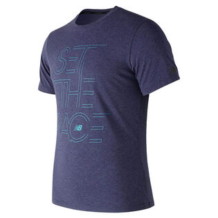 Men's Pace Heather Tech T-Shirt