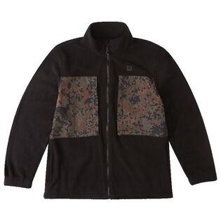 Men's A/Div Canyon Graphene Zip-Up Fleece Top