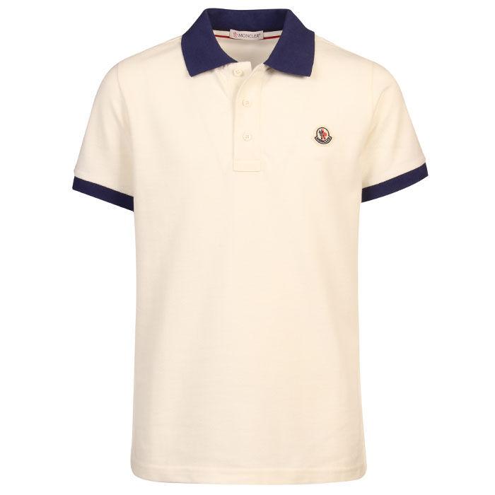 Polo en piqué de coton pour garçons juniors [8-14]