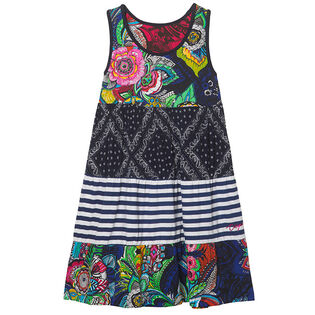 Junior Girls' [7-14] Multi-Print Reversible Dress