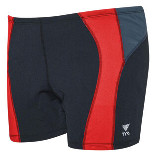 Men's Curve Splice Square Leg Swim Short