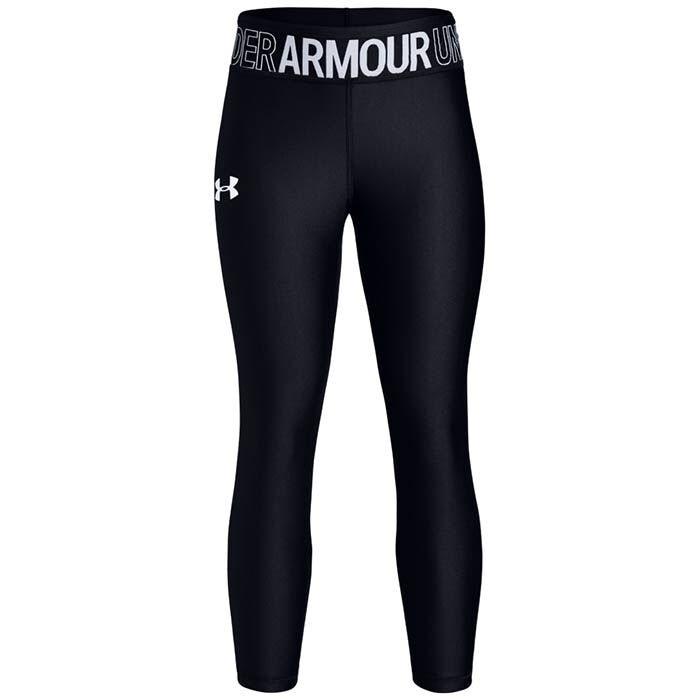 Junior Girls' [7-16] HeatGear® Armour Ankle Crop Tight