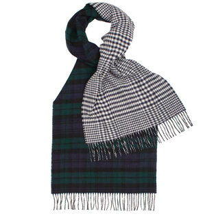 Women's Reversible Antique Tartan Scarf
