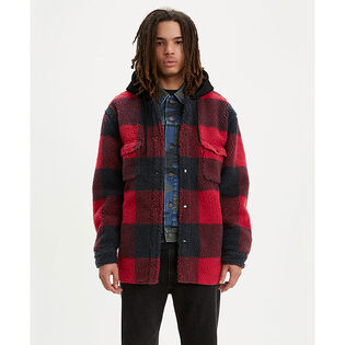 Men's Sherpa Jackson Overshirt Jacket