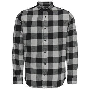 Chemise à carreaux pour hommes